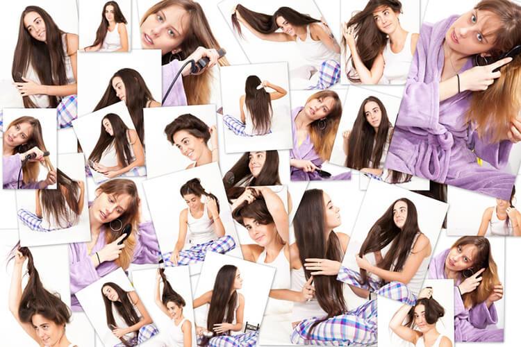 pielęgnacja róznego rodzaju włosów