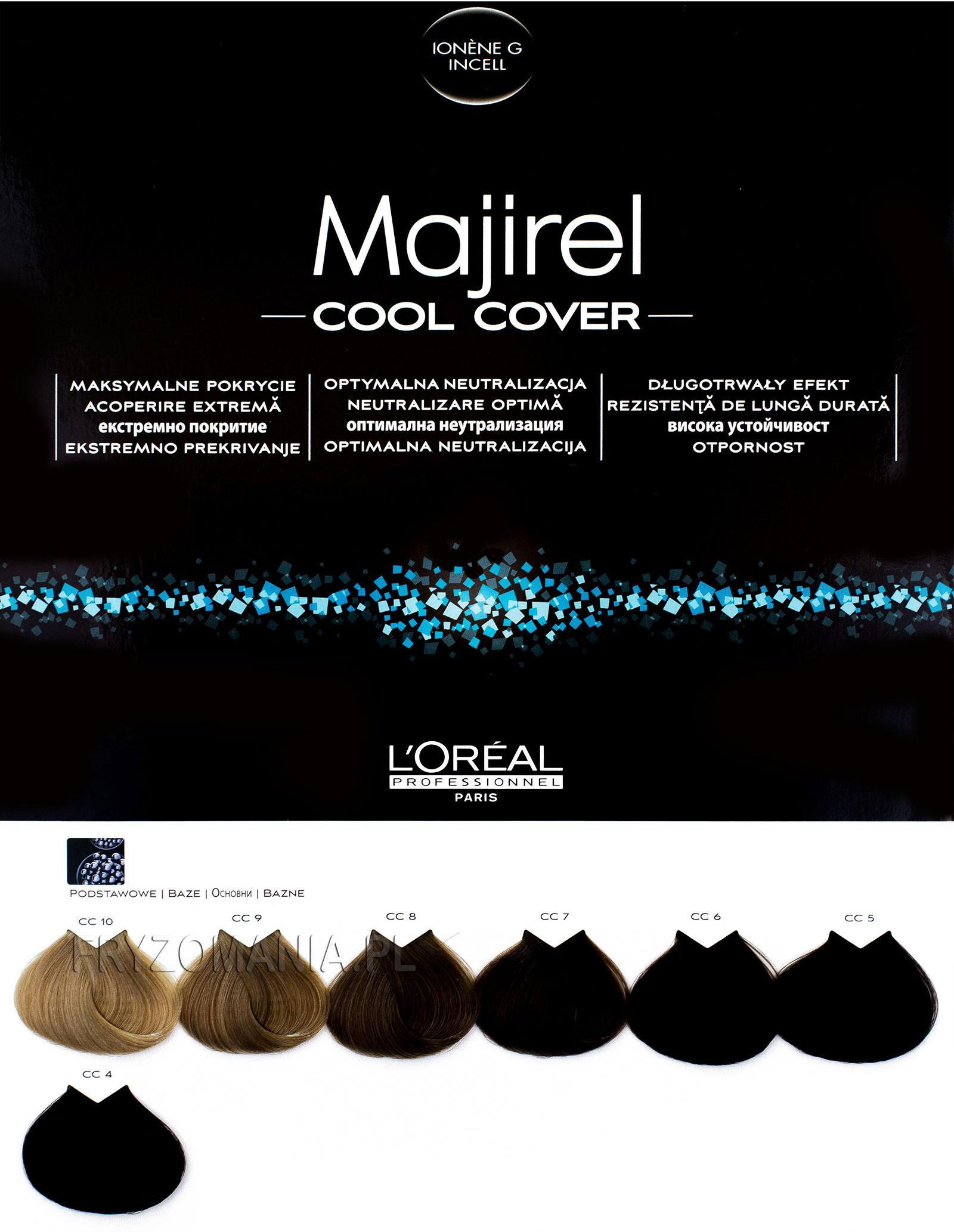 Loreal Majirel Cool Cover Farba Do Trwałej Koloryzacji