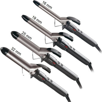 BaByliss Pro Curling Iron lokówka tytanowa (16mm) BAB2171TTE, (19mm) BAB2172TTE, ( 25mm) BAB2173TTE, (32mm) BAB2174TTE