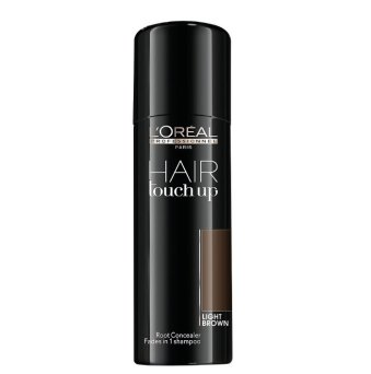 Loreal Hair Touch Up spray maskujący odrost jasny brąz 75ml