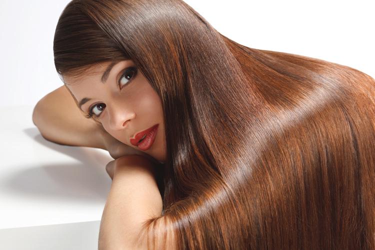 blask włosów