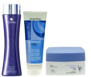 kosmetyki do włosów suchych