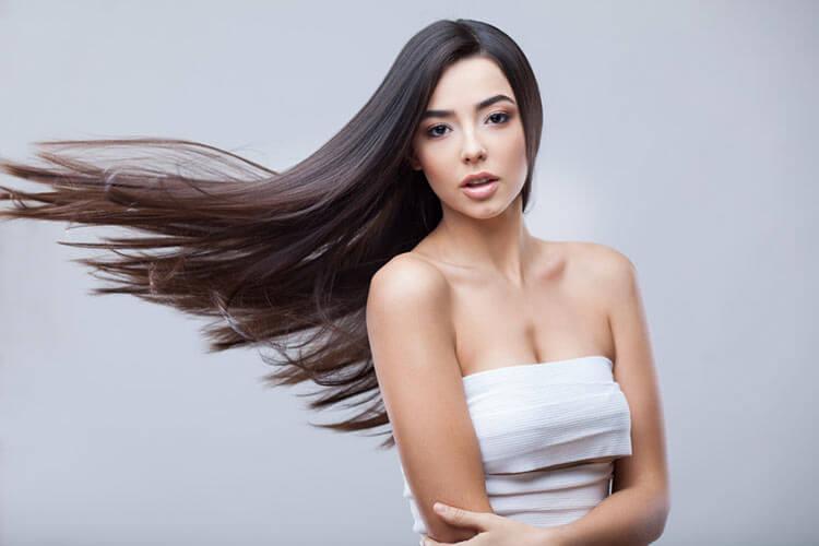 piękne włosy-po keratynowym prostowaniu