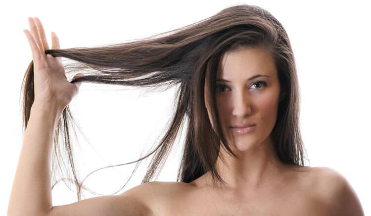 piękne włosy po użyciu ampułek do włosów