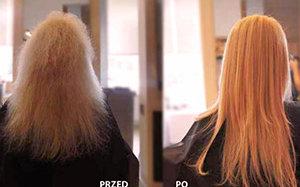 Encanto efekty po użyciu produktów do keratynowego prostowania