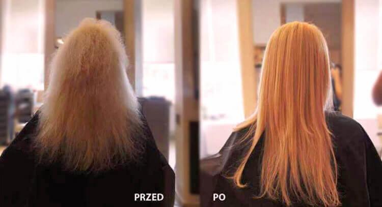proste włosy przez 3 miesiące po keratynie encanto
