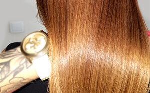 Naturalne keratynowe prostowanie włosów