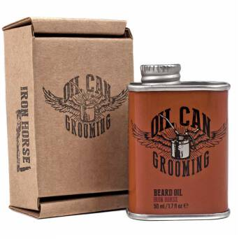 Oil Can Grooming Iron Horse olejek do pielęgnacji brody 50ml