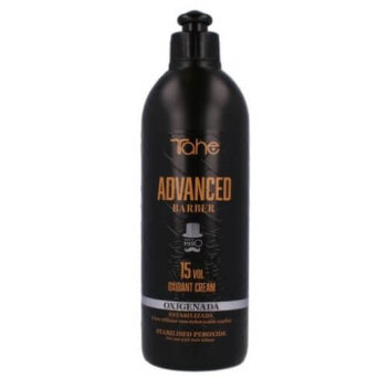 Tahe ADVANCED BARBER kremowy oxydant 15vol 400ml