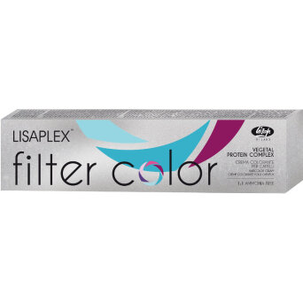 Lisaplex Filter Color Metallic farba do włosów bez amoniaku 100ml