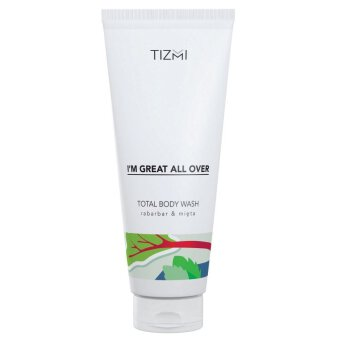 Tizmi Total Body Wash rabarbar & mięta - żel do ciała 200ml