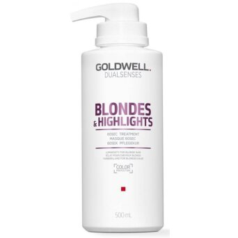 Goldwell Dualsenses Blondes 60s maska neutralizująca do włosów blond 500ml