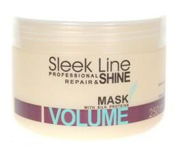 Stapiz Sleek Line Volume maska do włosów 250ml