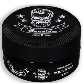Bandido Hair Wax 8 Black wodny wosk do włosów 150ml