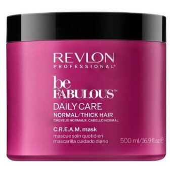 Revlon Be Fabulous Daily Care Normal/Thick maska do włosów normalnych i grubych 500ml