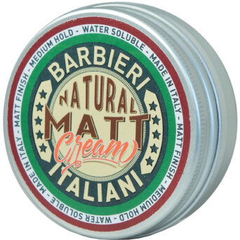 Barbieri Italiani Natural Matt Krem matujący do włosów 100ml