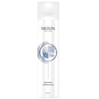Nioxin 3D Styling Niospray Strong Hold mocny lakier do włosów 400ml