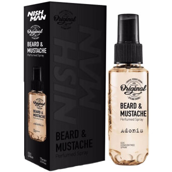 Nishman Beard & Mustache Adonis perfum do brody 75ml