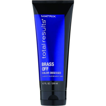 Matrix Total Results Brass OFF maska ochładzająca kolor włosów 200ml