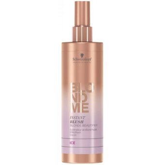 Schwarzkopf BLONDME Instant Blush Spray Toner do włosów kolor lodowy do włosów blond 250ml