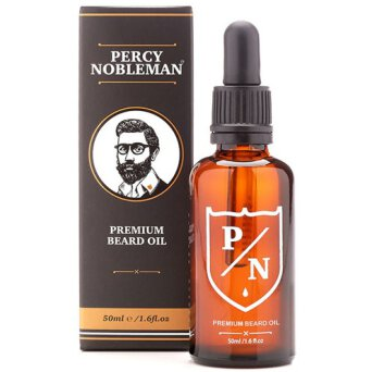 Percy Nobleman Premium Scented olejek do brody 50ml