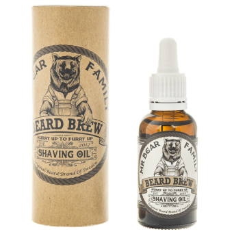 Mr. Bear Shaving Oil olejek do golenia brody 30ml