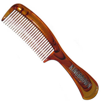 King Brown Tort Handle Comb grzebień do włosów