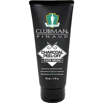 Clubman Charocal Black Mask czarna maska do twarzy peel off 90ml
