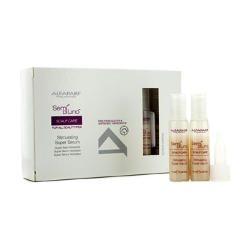 Alfaparf Semi Di Lino SCALP CARE Scalp Stimulating serum do włosów 12 x 10ml