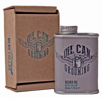 Oil Can Grooming Blue Collar olejek do pielęgnacji brody 50ml