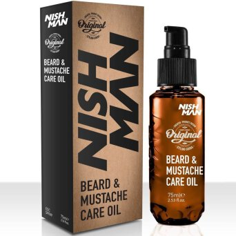 Nishman Beard & Mustache Oil olejek do brody 75ml