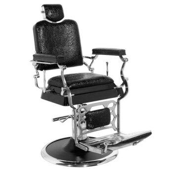 62649511c3f6c2 Gabbiano Old King Fotel barberski czarny · Gabbiano IMPERIAL Fotel barberski  brązowy dostępny w 48H