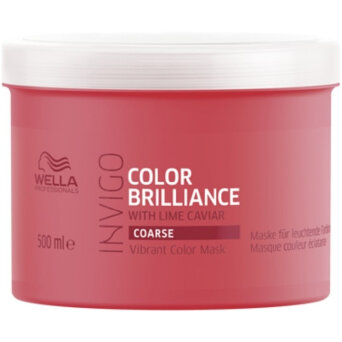 Wella INVIGO Brilliance COARSE Maska do włosów farbowanych 500ml