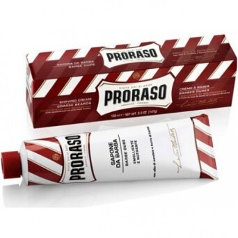 Proraso Red Shaving Cream krem do golenia do skóry suchej z twardym zarostem 150ml