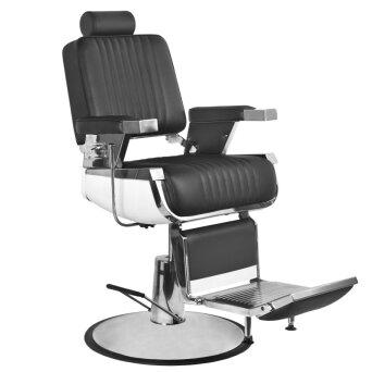 c2c335606d2815 Gabbiano ROYAL II Fotel barberski fryzjerski czarny dostępny w 48h