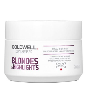 Goldwell Dualsenses Blondes 60s maska neutralizująca do włosów blond  200ml