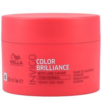 Wella INVIGO Color Brilliance maska do włosów cienkich, farbowanych 150ml