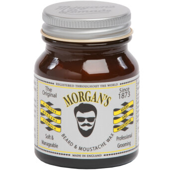 Morgan's Beard & Moustache Wax wosk do wąsów 50g