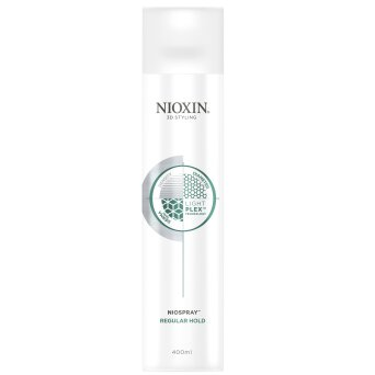 Nioxin 3D Styling Niospray Regular Hold lakier do włosów 400ml