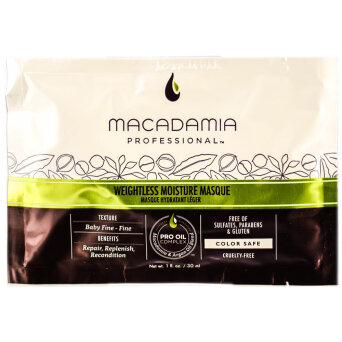 Macadamia Weightless Mask maska nawilżajaca do włosów cienkich 30ml