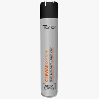 Tahe BOTANIC ACABADO CLEANFIXATIVE Lakier ultra strong do włosów 400ml