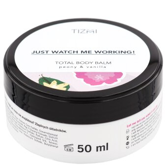 Tizmi Total Body Balm peonia & wanilia - balsam do ciała 50ml