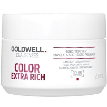 Goldwell Dualsenses Color Extra Rich 60s maska do włosów farbowanych 200ml