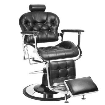 f32fceff83d262 Gabbiano FRANCESCO Fotel barberski fryzjerski czarny dostępny w 48h ...