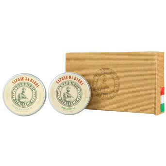 Barbieri Italiani BOX Zestaw Mydła do golenia 2 x 100ml