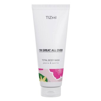 Tizmi Total Body Wash peonia & wanilia - żel do ciała 200ml