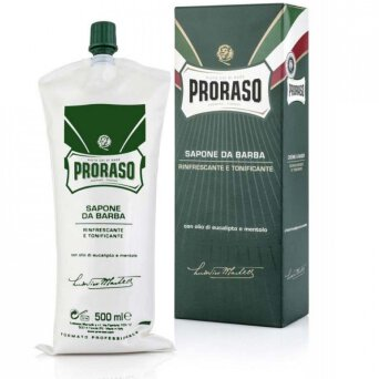 Proraso Green Shaving krem do golenia do skóry normalnej 500ml