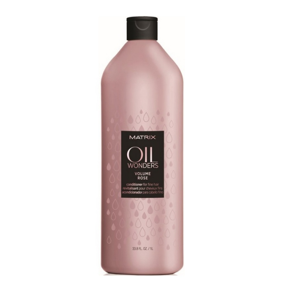 Matrix Oil Wonders Volume Rose odżywka do włosów cienkich 1000ml