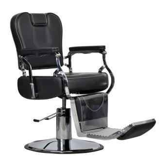 91e5c2bfa08d18 Italpro Vespe fotel fryzjerski barberski dostępny w 48H. Gabbiano ROYAL II Fotel  barberski fryzjerski czarny ...