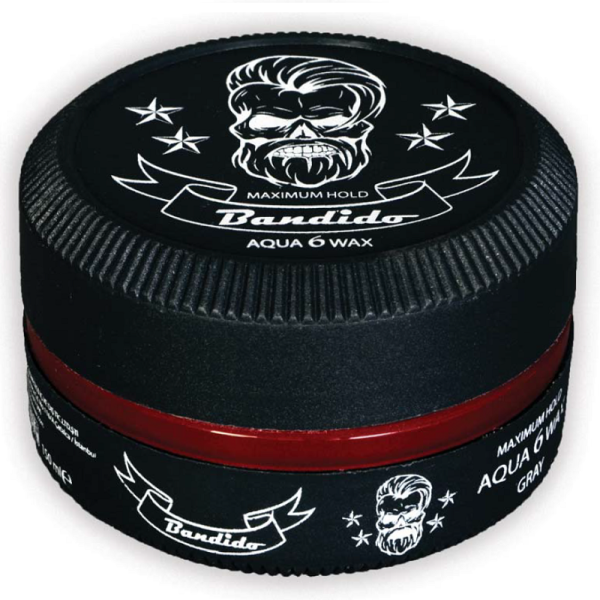Bandido Hair Wax 6 Gray wodny wosk do włosów 150ml
